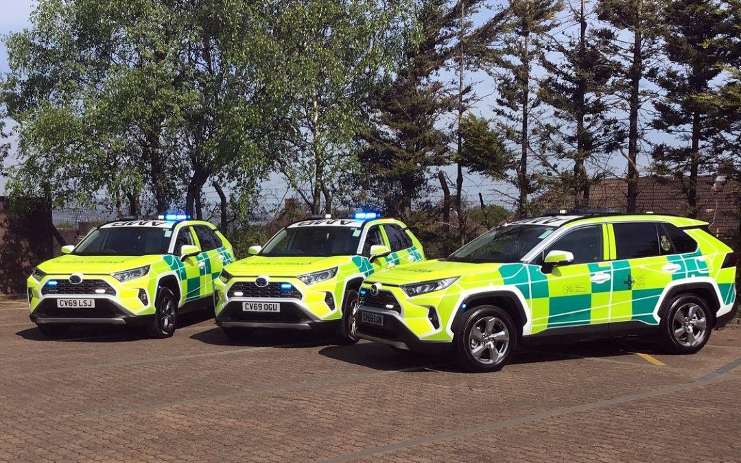 Toyota RAV4: Υβριδικά και τετρακίνητα ασθενοφόρα