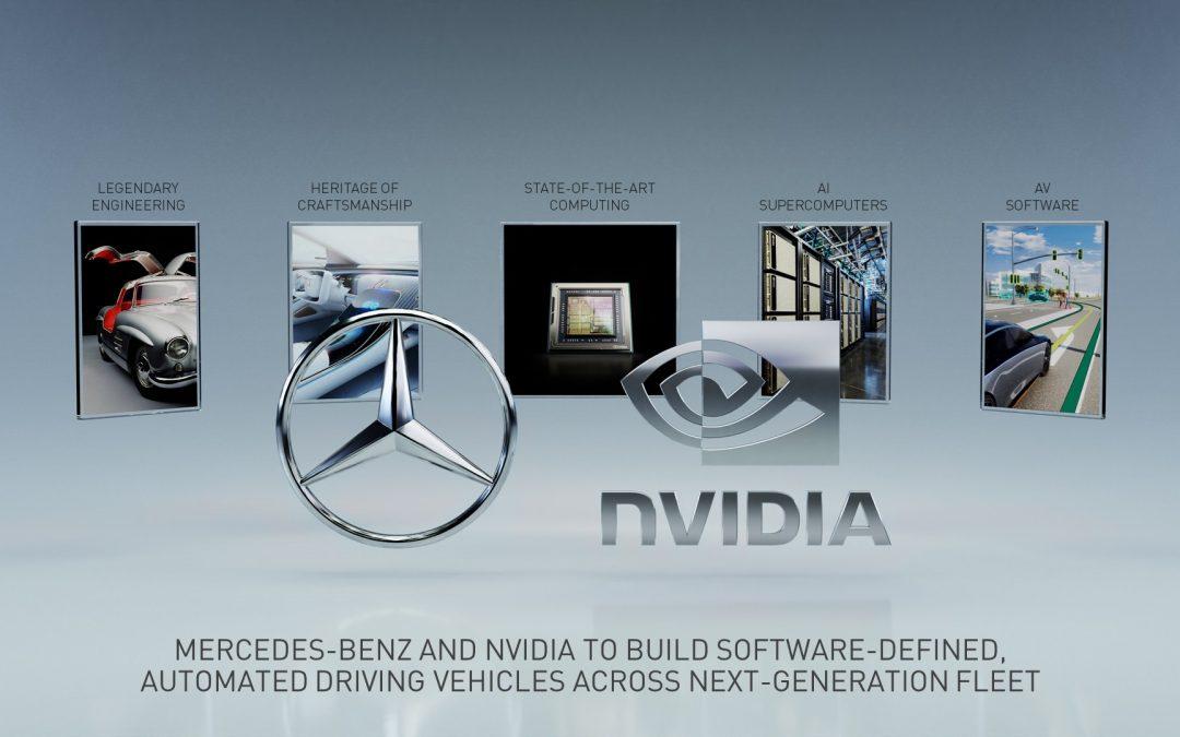 Mercedes – nVidia: Με στόχο την αυτόνομη οδήγηση