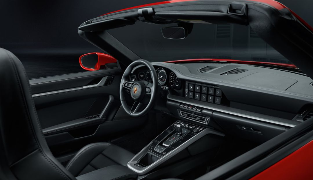 Porsche 911 Cabriolet: Ιδανική θερμοκρασία με ανοιχτή οροφή