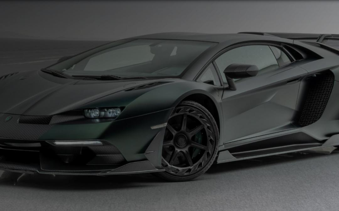 """Lamborghini Aventador SVJ """"Mansory Cabrera"""""""