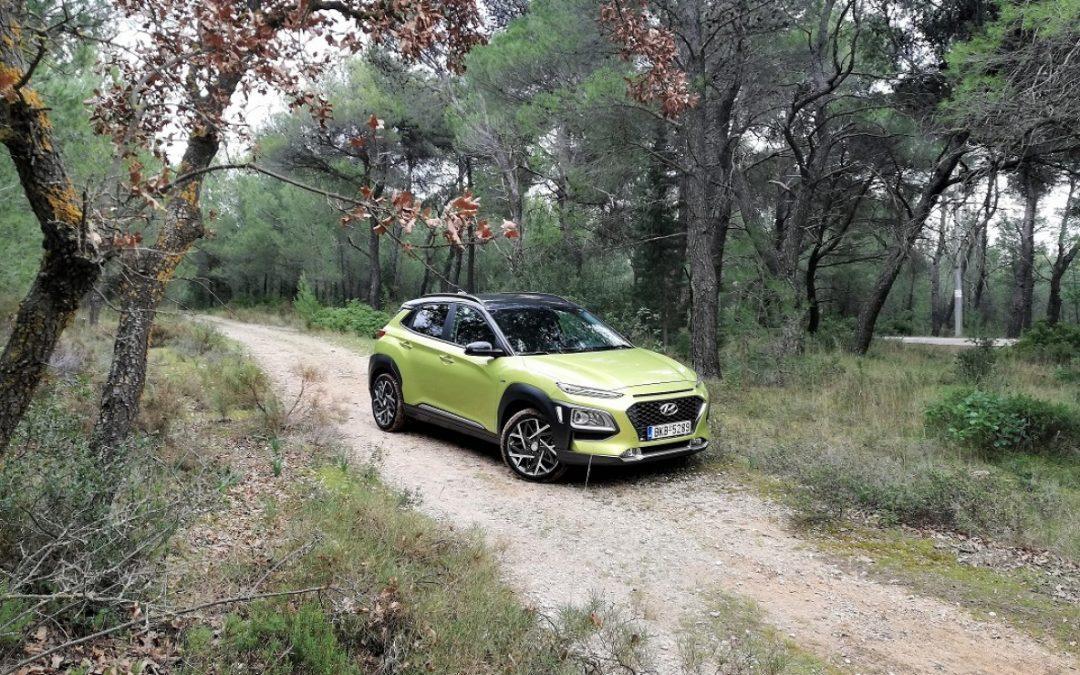 Hyundai Kona: Υβριδικό με 141 ίππους
