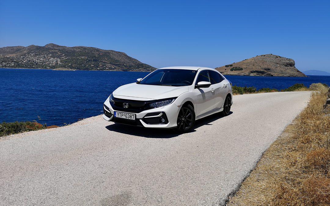 Honda Civic 1.0: Με οδηγικό χαρακτήρα