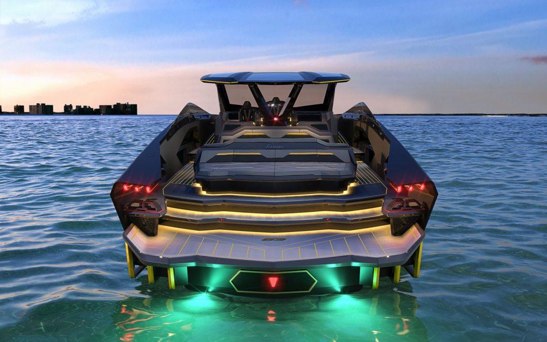Το σκάφος της Lamborghini