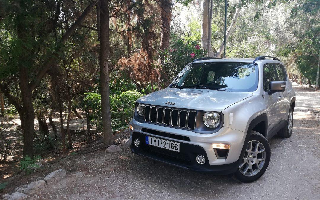 Jeep Renegade 1.3T 4×4: Περιπέτεια, άνεση και δύναμη (video)