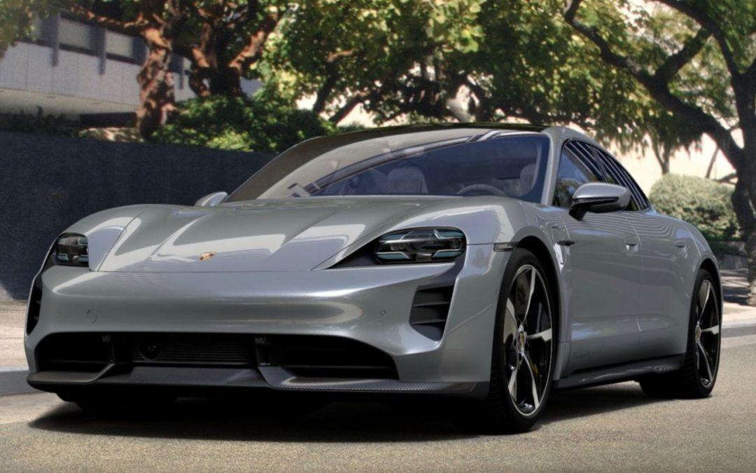 Porsche: Αυτή είναι η Taycan του Μαρκ Γουέμπερ