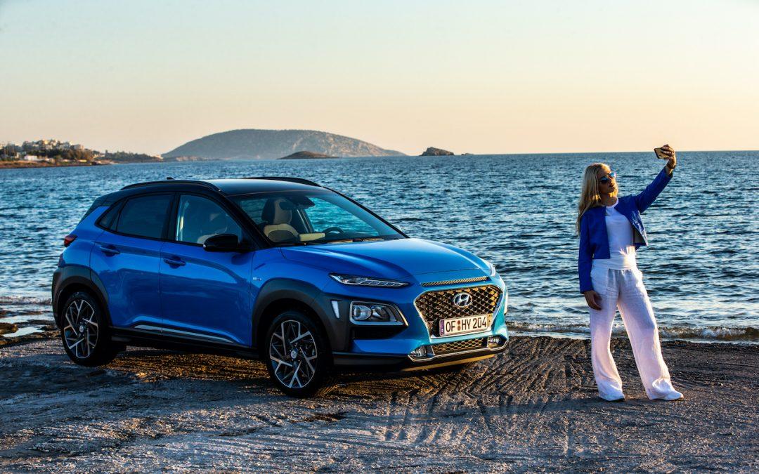 Hyundai Kona Hybrid: Ραντεβού με τη διάκριση