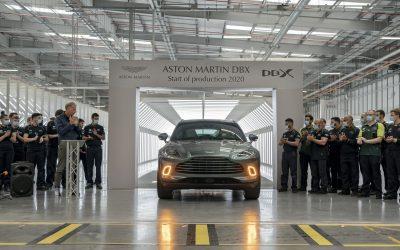 Aston Martin: Η κατασκευή της πρώτης DBX αποτελεί γεγονός