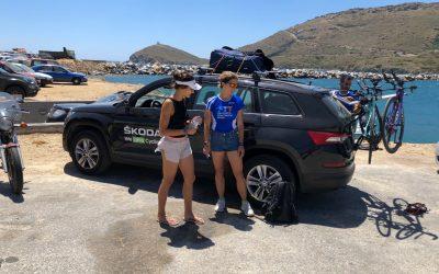 Skoda: Χορηγός σε Ελληνική ομάδα ποδηλασίας