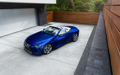 Lexus LC Convertible: Εμπνευσμένο από τα πολυτελή σκάφη