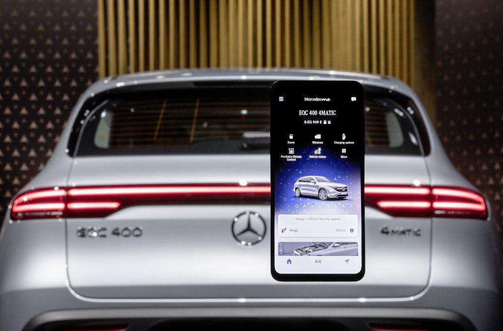 Mercedes: Χειρισμός του αυτοκινήτου από το smartphone