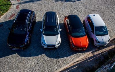 DS 7 Crossback E-Tense 4X4, Opel Corsa-e, Seat Arona TGI, Skoda Citigo eiV: 4 θεματοφύλακες