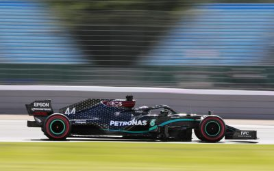 Formula 1, Γκραν Πρι Βρετανίας, 70 χρόνια F1: Τα Mercedes 1-2 στα δεύτερα δοκιμαστικά