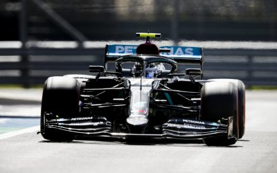 Formula 1, Γκραν Πρι Βρετανίας, 70 χρόνια F1: Ο Μπότας στα πρώτα ελεύθερα δοκιμαστικά