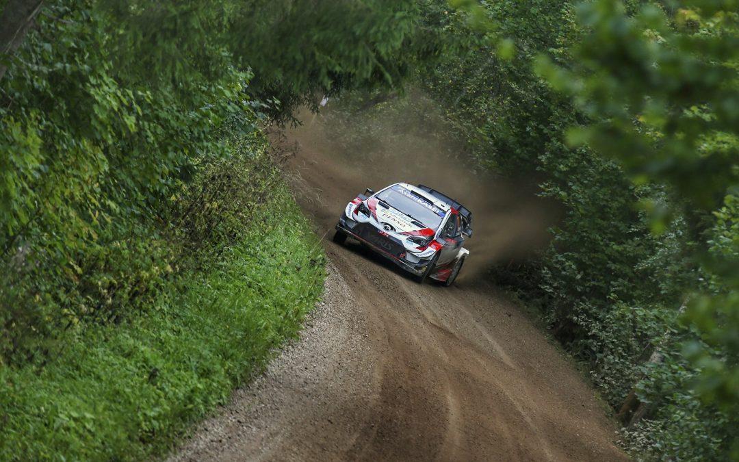 WRC, ράλι Εσθονίας: Ποινή ενός λεπτού σε Ροβάνπερα-Χαλτούνεν