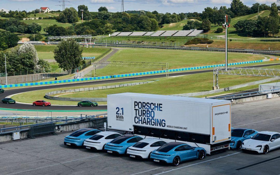 Porsche: Μετέτρεψε φορτηγά σε powerbanks