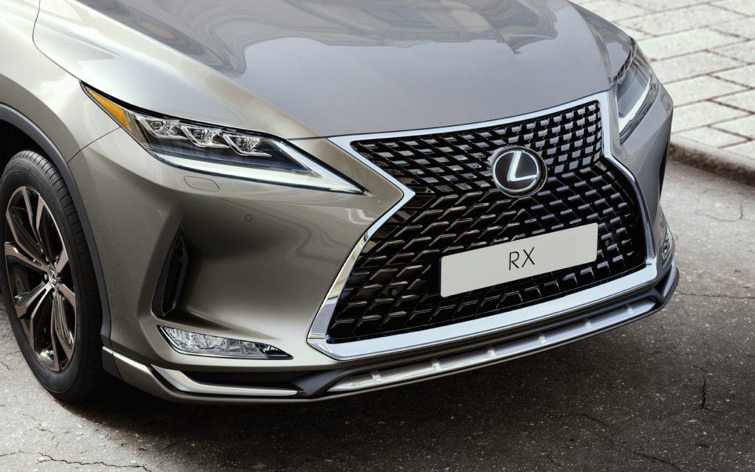 Lexus RX: Με νέα σπορ αισθητική