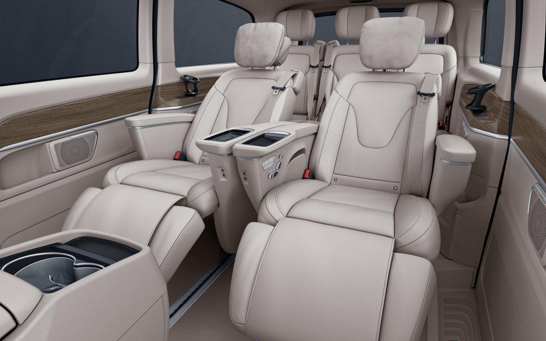 Mercedes V-Class: Καθίσματα και πολυτέλεια από lear jet
