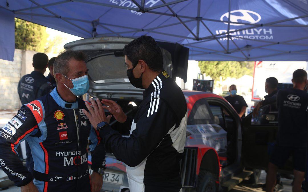 WRC, Hyundai Motorsport: Πρώτη φορά στέλεχος της κυβέρνησης σε ρόλο συνοδηγού (video)