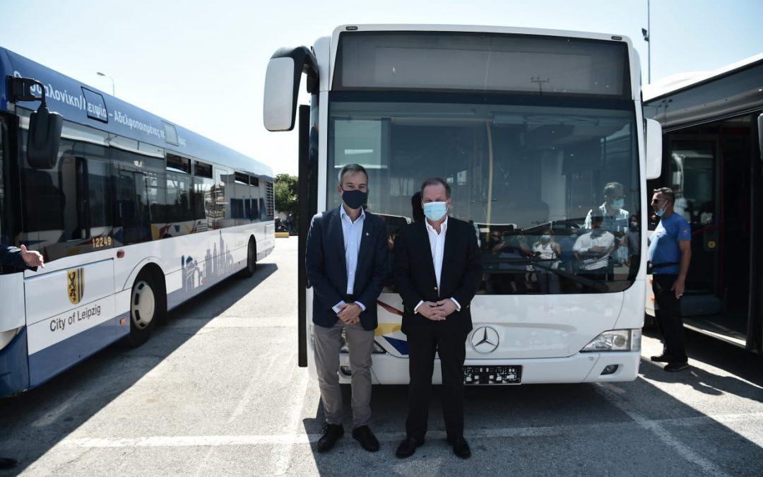Yπουργείο Υποδομών και Μεταφορών: Παραλαβή 18 νέων λεωφορείων για τις ανάγκες της Θεσσαλονίκης