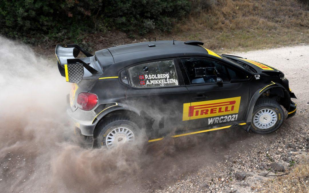 WRC, ράλι Σαρδηνίας: Πέτερ Σόλμπεργκ-Αντρέας Μίκελσεν θα μοιραστούν το Pirelli Citroen C3 WRC
