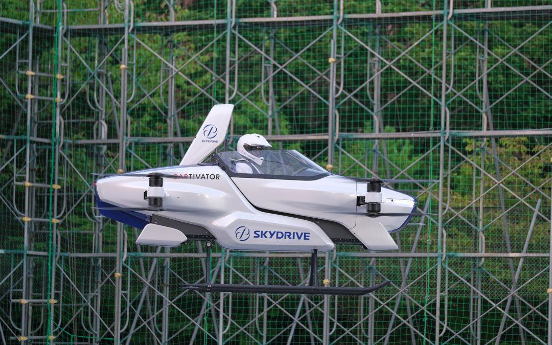 SkyDrive Manned Machine SD-03: Drone που μεταφέρει ανθρώπους (videos)