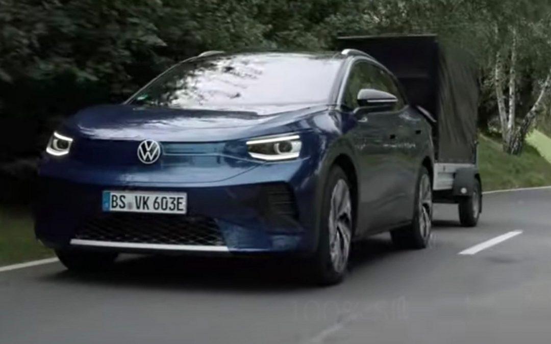 Volkswagen ID.4: Πόσο βάρος μπορεί να ρυμουλκήσει; (video)