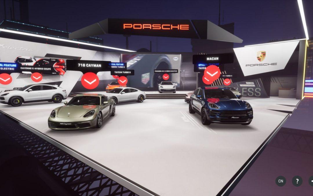 Porsche: Ψηφιακό περίπτερο στο Σαλόνι του Πεκίνου (video)