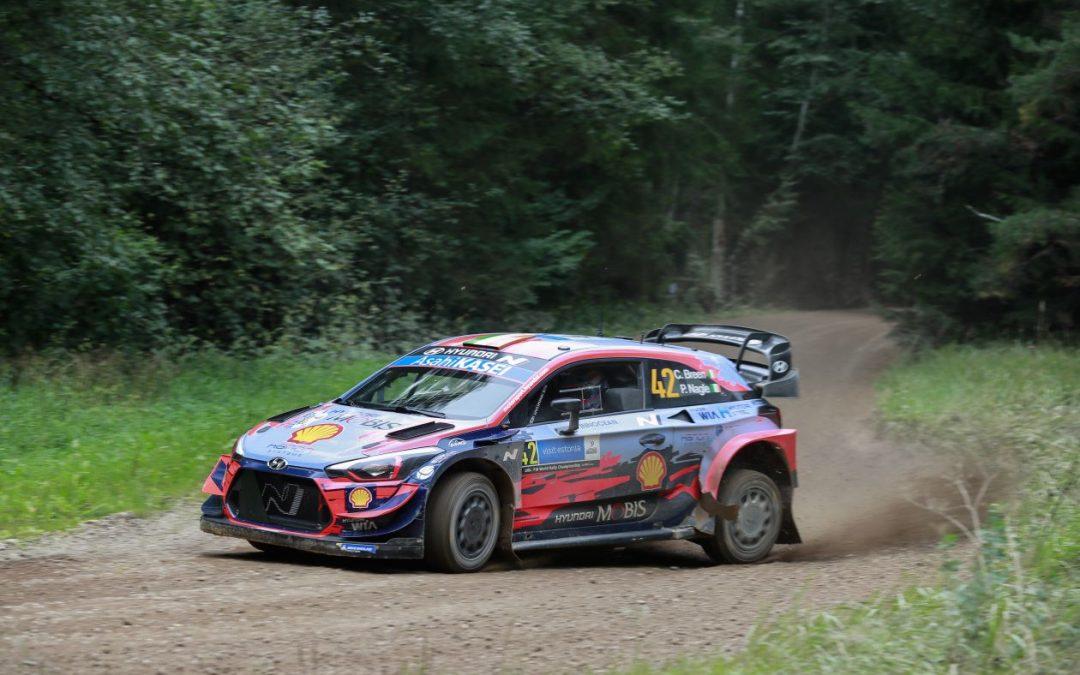 WRC, ράλι Εσθονίας, 1ο σκέλος: Ο Τάνακ οδηγεί την κούρσα στην πατρίδα του