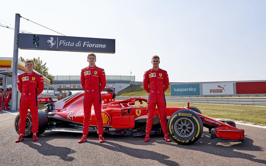 Formula 1, pista di Fiorano: Οι αυριανοί πρωταθλητές πήραν γεύση από Ferrari F1