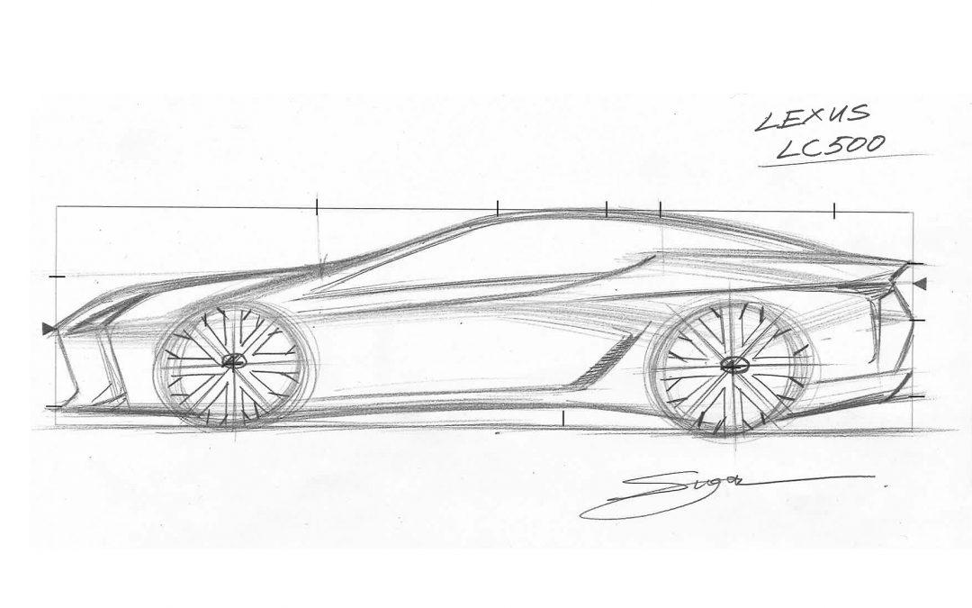 Lexus: Σχεδιάστε μόνοι σας το LC 500 (video)