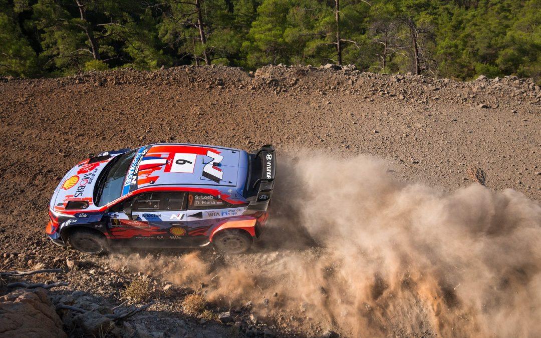 WRC, ράλι Τουρκίας: Ο «γάτος» Λέμπ προηγείται στο 1ο σκέλος