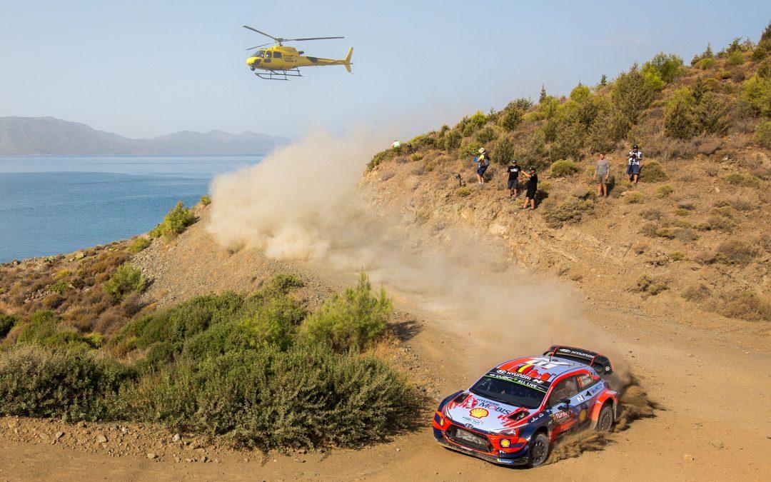 WRC, ράλι Τουρκίας: Με τρία i20 WRC συμμετέχει η Hyundai Motorsport