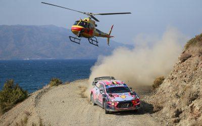 WRC, ράλι Τουρκίας, 2o σκέλος: Ο Νεβίλ προηγείται, Λεμπ, Οζιέ με ίδιο χρόνο στη 2η θέση