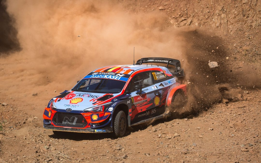 WRC, ράλι Τουρκίας: ο Νεβίλ στο shakedown