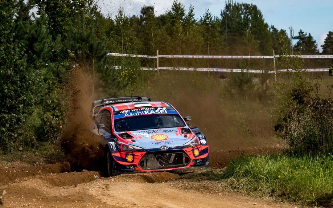 WRC, ράλι Εσθονίας: Νίκη για Τάνακ-Γιαρβέογια-Hyundai