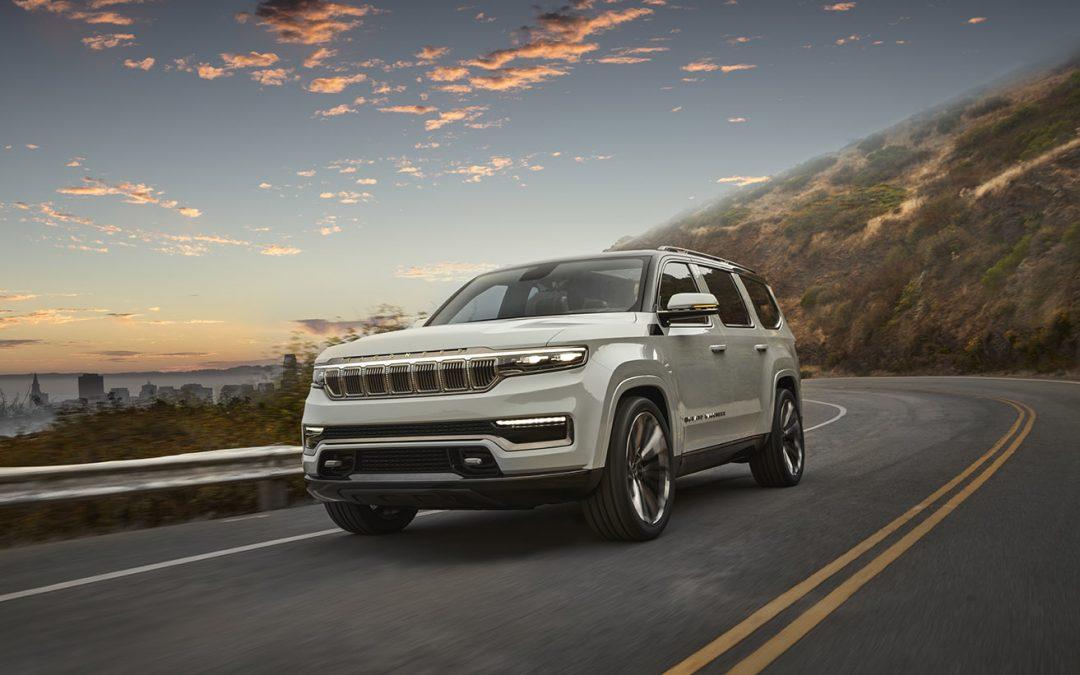 Jeep Plug-in Hybrid Grand Wagoneer Concept