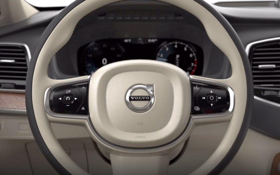 Volvo: Το τιμόνι που αλλάζει θέση