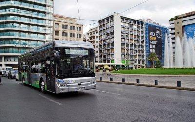 Ήρθε το ηλεκτρικό λεωφορείο της Yutong και ξεκίνησε τις διαδρομές