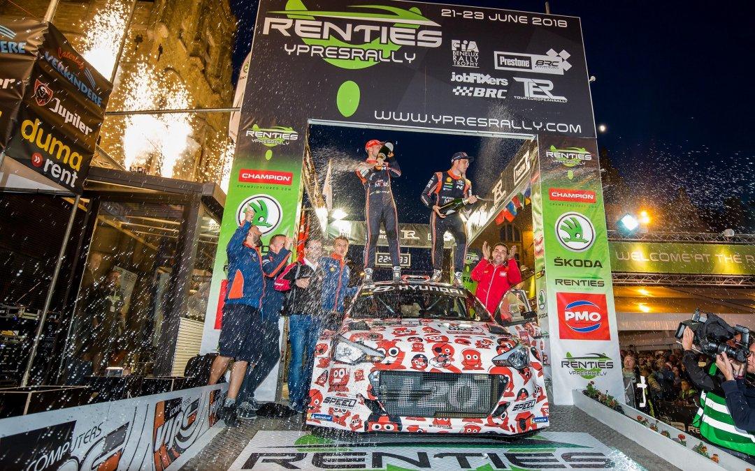 WRC, ακυρώθηκε το ράλι Ιπρ στο Βέλγιο