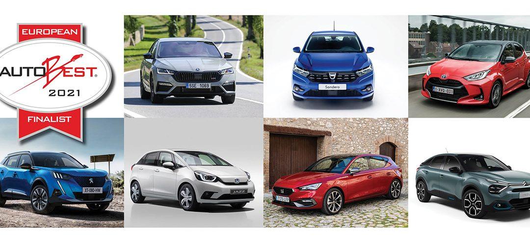 """ΑutoBest: Η λίστα με τα 7 φιναλίστ μοντέλα. Ποιο άραγε θα βραβευθεί ως """"Best Buy Car of Europe in 2021"""""""