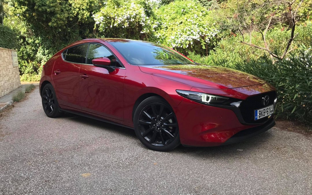 Mazda 3 Skyactiv-X: Η premium καθημερινότητα που χρειάζεσαι