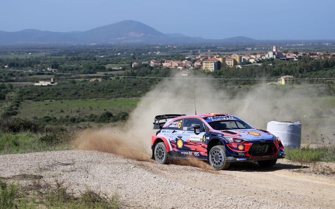 WRC, ράλι Ιταλίας, Σαρδηνία: Ο Σόρδο δύο Ειδικές Διαδρομές πριν το τέλος του 1ου σκέλους
