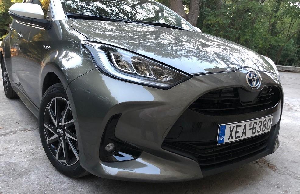 Toyota Yaris 1.5 Hybrid: Αγνώριστο αλλά ελκυστικό