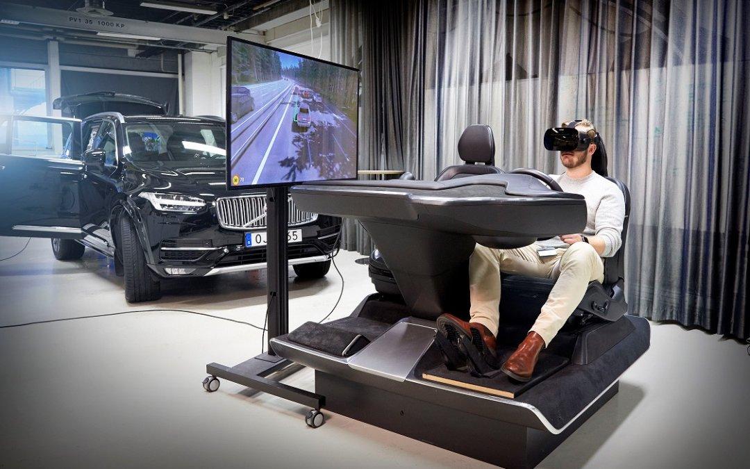Volvo: Ο προσομοιωτής οδήγησης που όλοι θέλουν να δοκιμάσουν (video)