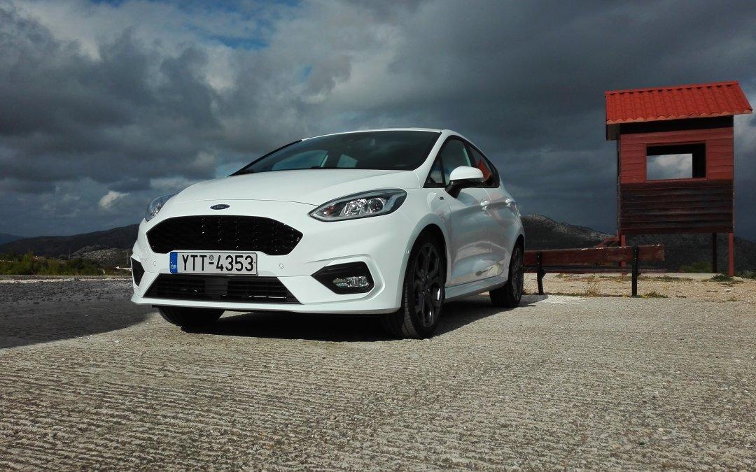 Ford Fiesta mHEV155 PS: Πυραυλάκι 1.000κ.εκ. με sport DNA (+Video)