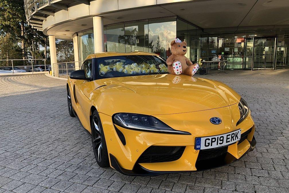 Toyota: Πόσα αρκουδάκια χωράνε μέσα σε μια GR Supra;