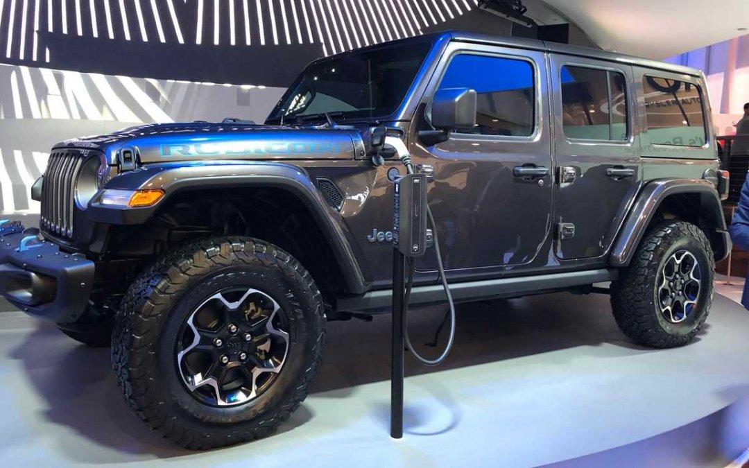 """Jeep: Θέλει να γίνει """"καταπράσινη"""""""