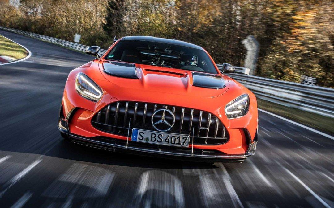 Νέος βασιλιάς του Nurburgring η Mercedes AMG GT Black Series (+Video)