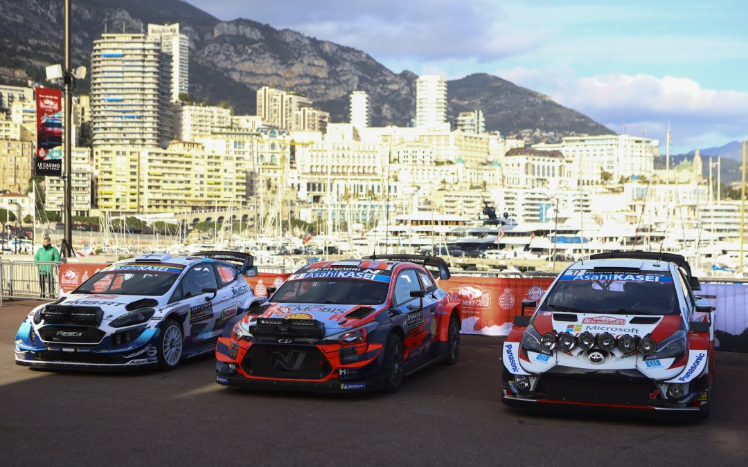 WRC, ράλι Μόντσα: Που προετοιμάζονται οι εργοστασιακές ομάδες, πόσες είναι οι συμμετοχές
