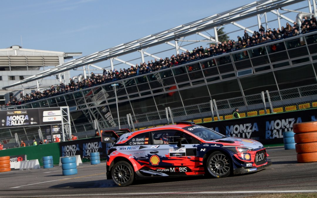 WRC: H σύνθεση της Hyundai Motorsport στο ράλι Μόντσα (video)